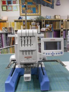Janome MB4 Embroidery Machine 4 Needle