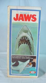 Vintage Ideal 1975 Jaws Game Toy Factory SEALED Never Used High Grade