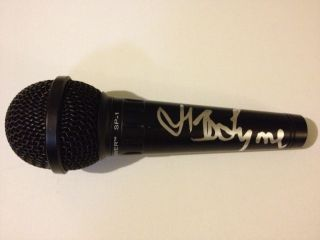 JEFF LYNNE SIGNED MICROPHONE ELECTRIC LIGHT ORCHESTRA ELO BEATLES