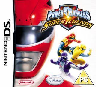 Gamesbite Ltd   Power Rangers Super Legends (Nintendo DS)