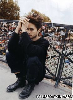 Jared Leto DEdiCate magazine issue #26 30 seconds to mars Francois