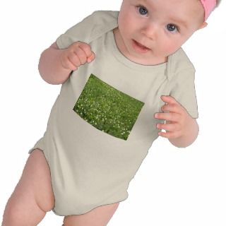 Buttercups and thimbleweed White flowers Tee Shirts