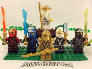 2013 Lego Ninjago Kimono Jay Red Kai zane Green Gold Ninja Minifigure