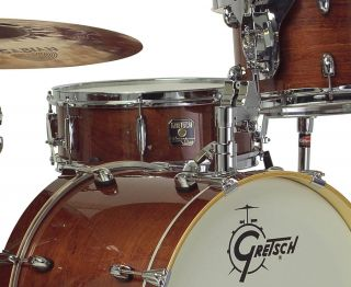 Gretsch Catalina Club Jazz Drum Set, Walnut Glaze (CT J484 WG)   FREE