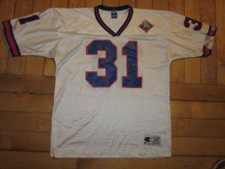 VTG NY Giants Jason Sehorn Jersey Shirt New York NYC Taylor 1999 90s