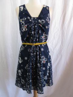 New Jason Wu for Target Sleeveless Chiffon Dress in Navy Floral
