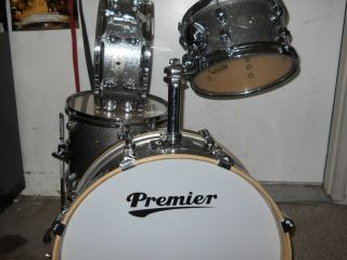 Drums Heritage Artist Birch Silver Sparkle Jazz Drum Set