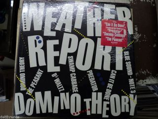 Weather Report Domino Theory Jazz Fusion LP