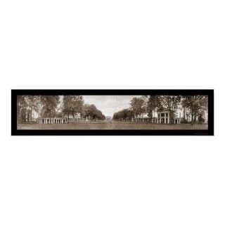 Universidad del césped de la foto enorme 1911 de V Posters de