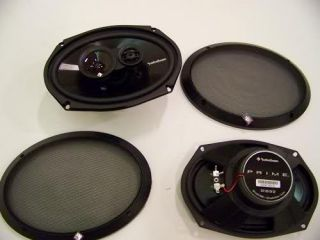 Fosgate R1693 3 Way 6 x 9  Prime Full Range Car Speakers Piar