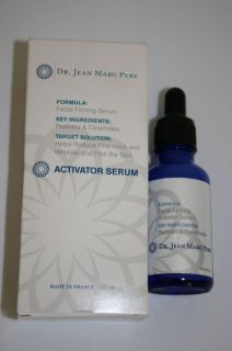 Dr Jean Marc Pere Formula Activator Facial Firming Serum