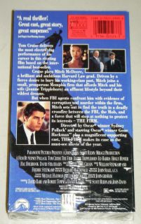 VHS Movie Paramount Pictures 1993 Tom Cruise Jeanne Tripplehorn
