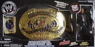 JAKKS Jeff Hardy Figure with Intercontinental Championship Belt Box