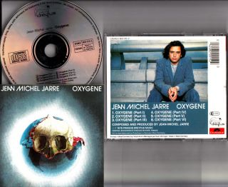 JEAN MICHEL JARRE  Oxygene CD (W.GERMANY PDO 80s Polydor/Dreyfus RARE
