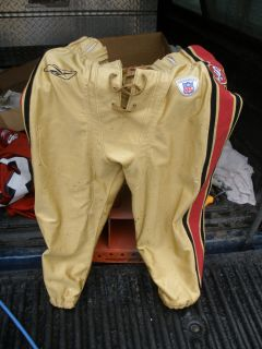 San Francisco 49ers Game Used Pants 2003 Season 36 03
