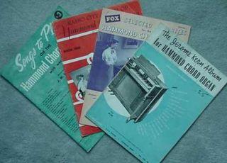 Hammond Chord Organ Books 1953 55 Jerome Kern