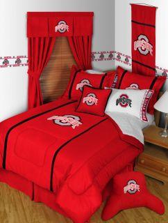 Ohio State Buckeyes Twin Full Queen Comforter Bedroom Sets MVP Save