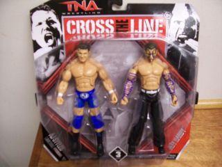 Jeff Hardy AJ Styles TNA Jakks Series 3 2 PK Figure