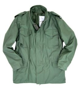Alpha Industries M 65 Field Coat Black Olive Woodland and Khaki
