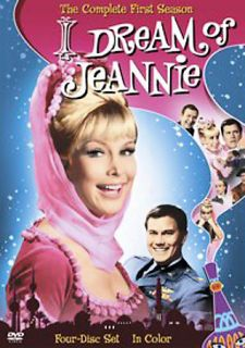 Dream of Jeannie The Complete First Season DVD 2006 4 Disc Set Color