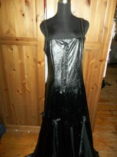 black rose gothic corset dress sizes s m l xl and xxl