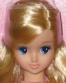 Takara Licca Castle Jenny Friend Timotei Doll Short Blond Flip