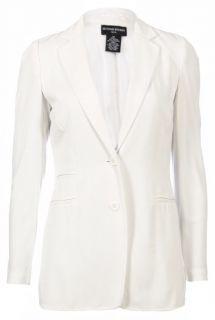 Sutton Studio Womens Deconstructed Jersey Knit Blazer Jacket Assorted