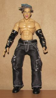 JEFF HARDY jakks FINAL COUNT rare wwf wwe WRESTLING FIGURE tna
