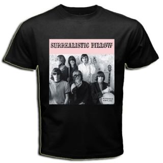 Jefferson Airplane Psychedelic 60s Music Black T Shirt
