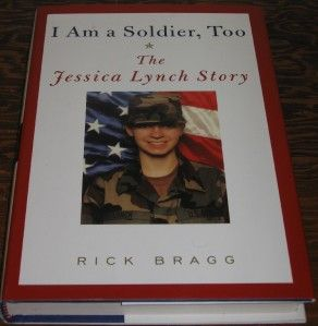 Am A Soldier Too Jessica Lynch Signed Autographed 2X