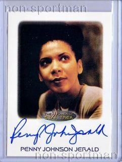 2010 Women of Star Trek Penny Johnson Jerald Autograph