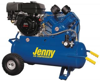New Jenny Products Air Compressor G8HGA 17P Honda 8 HP Gas Engine 4CYL