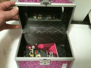 Pink Caboodles Lock Box Jewelry Box 5 Pictures