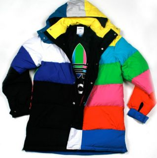 Adidas JEREMY SCOTT TV DOWN PARKA JACKET COAT brand new with tags SIZE