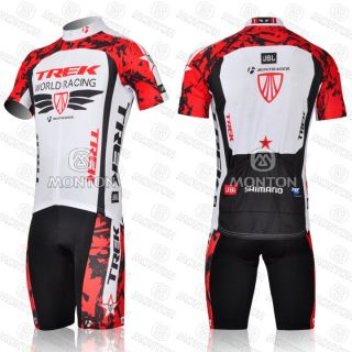 2012 Team Cycling Bicycle Suit Jersey Shorts Bike Racing Riding