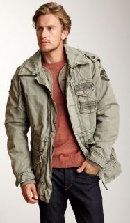 JET LAG   Mens (M) ARMY CARGO JACKET style SW 65D in KHAKI   NEW WITH