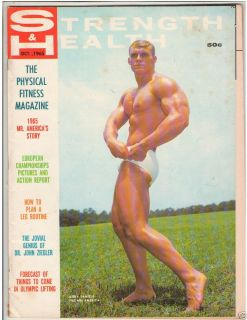 Health Bodybuilding Fitness Magazine Jerry Daniels 10 65