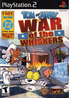 Tom and Jerry War of The Whiskers PlayStation PS2 Choose from Over 75