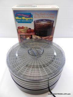 Original Bee Beyers Food Dehydrator Jerky Maker Machine EXCELLENT