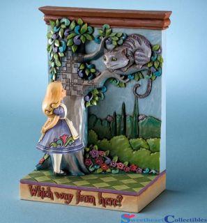 Jim Shore Disney Alice in Wonderland The Cheshire Cat