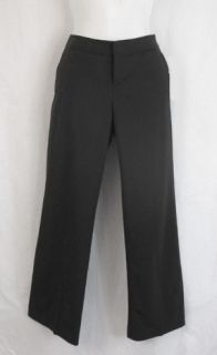 Banana Republic ~ Black Martin Fit Low Rise Fully Lined Wool Stretch