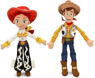 Toy Story 3 JESSIE & WOODY Plush Doll Toy 16 Buzz Bullseye friend