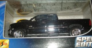 Chevrolet Silverado Black 1 24 Die Cast Pick Up Truck from Maisto