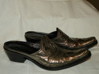 Jessica Bennett Antique Metallic Leather 9