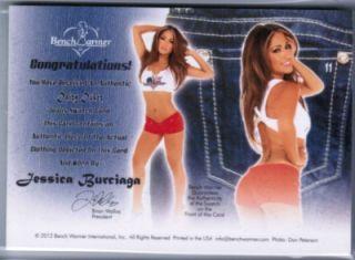 Jessica Burciaga Benchwarmer Daizy Dukez 09 10 Green Auto Red Shorts