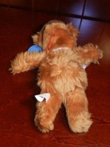 Jim Henson Muppets Fozzie Bear Plush Stuffed Animal Toy Figure Doll 9