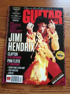 Guitar World 12 07 Jimi Hendrix Pink Floyd Eric Clapton
