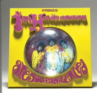 FIGURE  Jimi Hendrix 3D Album Cover  NEW