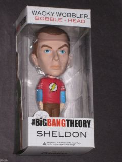 Big Bang Theory Sheldon Cooper Bobble Head Figure Jim Parsons Funko