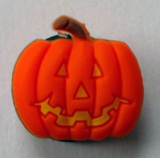 Pumpkin Jack O Lantern Jibbitz Croc Bracelet Shoe Charm